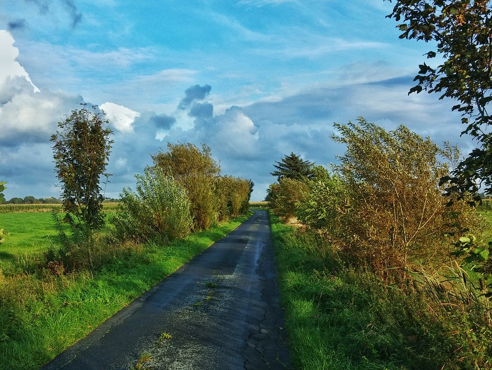 Nordfriesland, Sky, Autumn