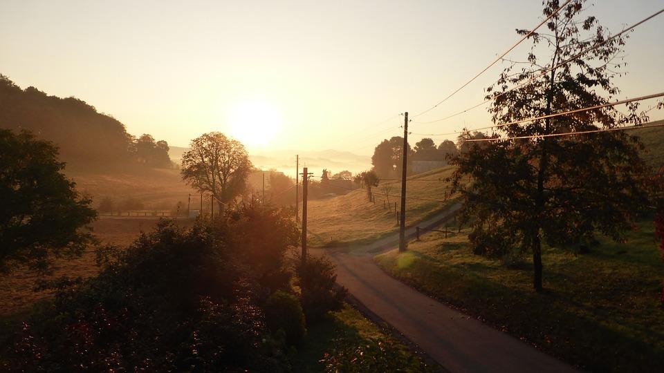 Autumn, Autumn Mood, Sunrise, Autumn Colours, October