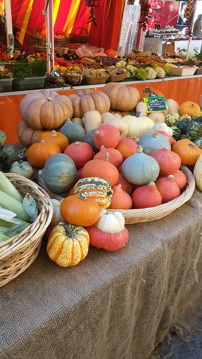 Pumpkins, Pumpkin, Vegetables, Orange, Autumn