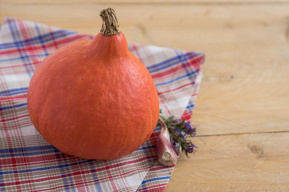 Pumpkin, A Vegetable, Autumn, Orange, Vegetables, Food