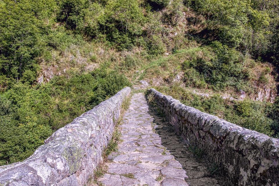 Bridge, Devil, Chalencon, Auvergne, Devil's Bridge