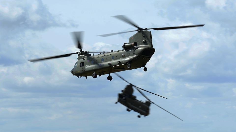 Helicopter, Chinook, Raf, Flight, Aircraft, Aviation