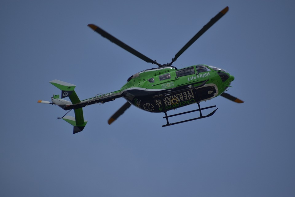 Helicopter, Emergency, First Responders, Aviation