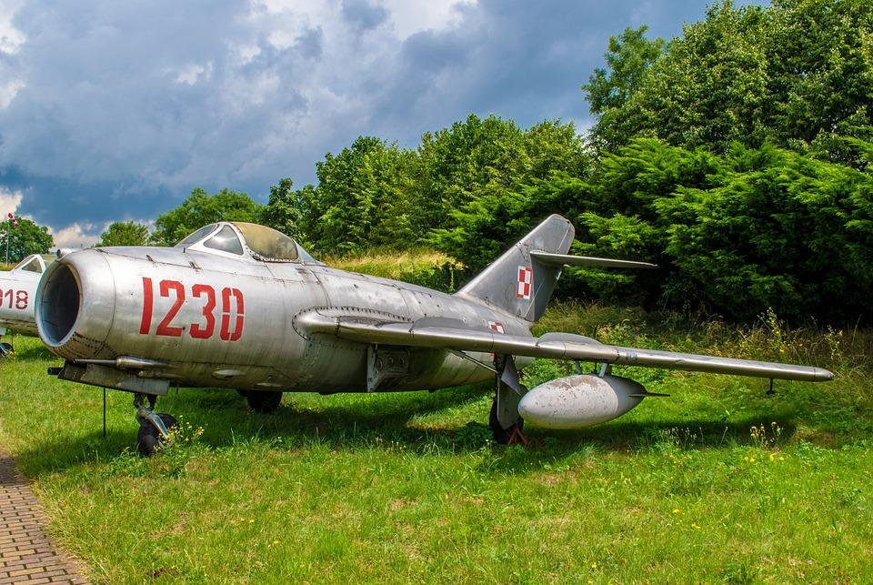Plane, Museum, Exhibit, Krakow, Poland, Fly, Aviation