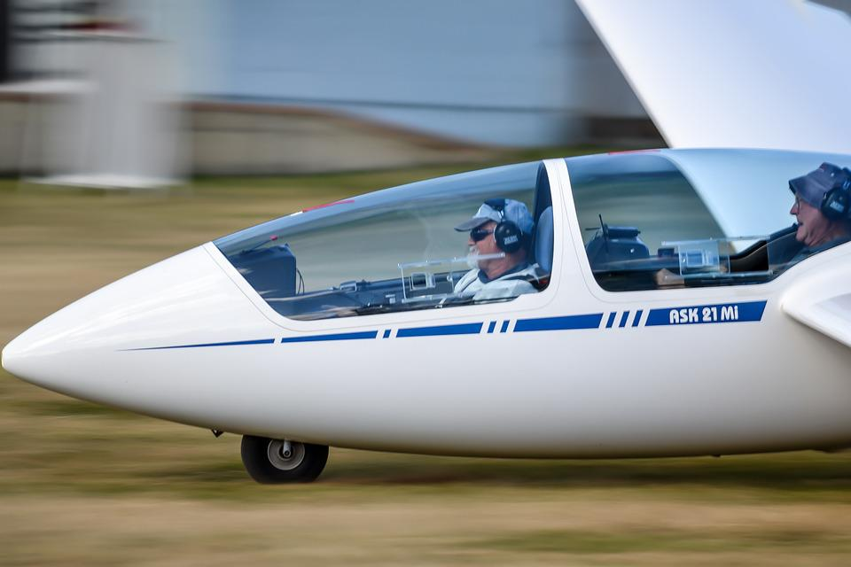 Glider, Light Aircraft, Flight, Aviation