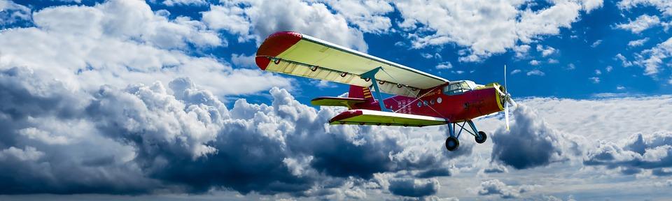 Aircraft, Propeller, Wing, Fly, Double Decker, Aviation