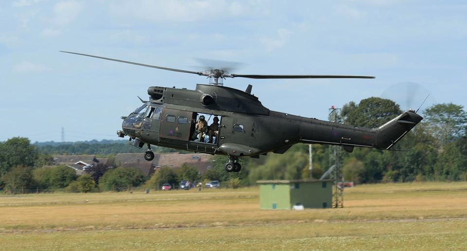 Helicopter, Puma, Raf, Flight, Aircraft, Aviation