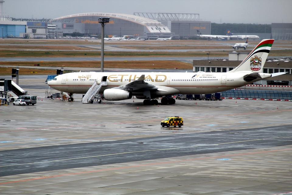 Aircraft, Runway, Airport, Aviation, Flying