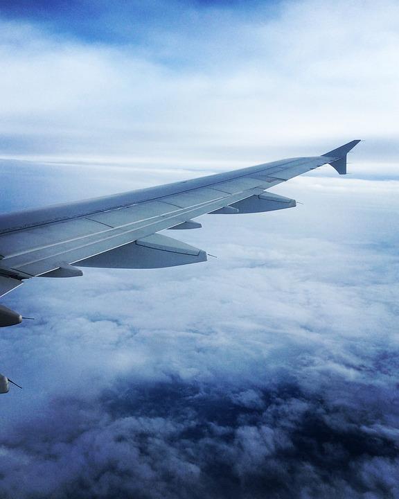 Wing, Aircraft, Air France, Munich, Aviation, Sky