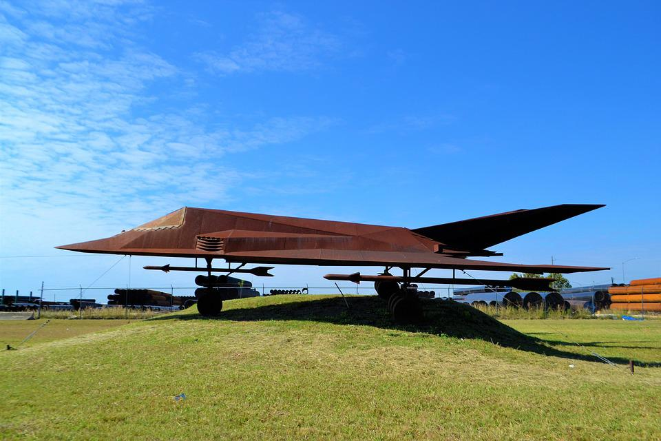 Stealth Bomber, Replica, Model, Statue, Aviation