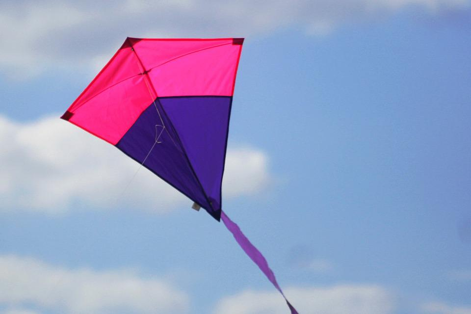 Aviator, Air, Blue, Wind Kite, Kites Against Blue Sky