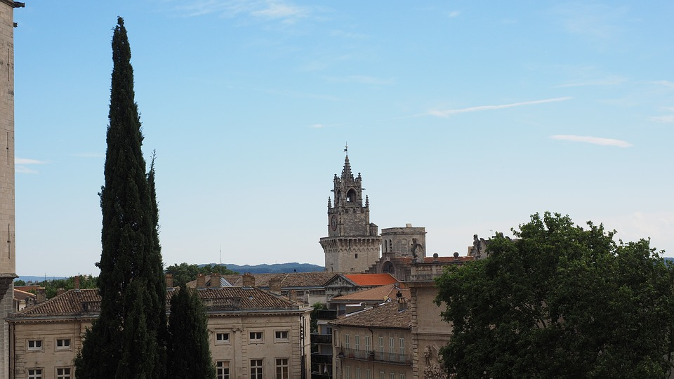 Avignon, Tower, Bell Tower, Clock Tower