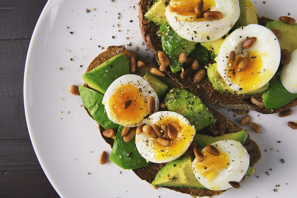 Food, Egg, Eggs, Toast, Toasted, Bread, Avocado
