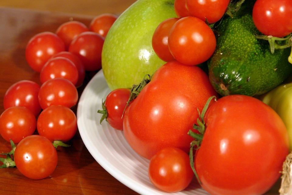 Tomatoes, Avocado, Food, Healthy, Tomato, Organic