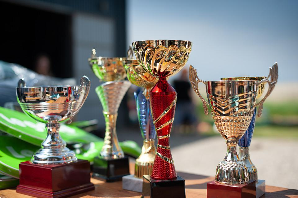 Cups, Prizes, Trophy, Awards, Prize, Cup, Winner