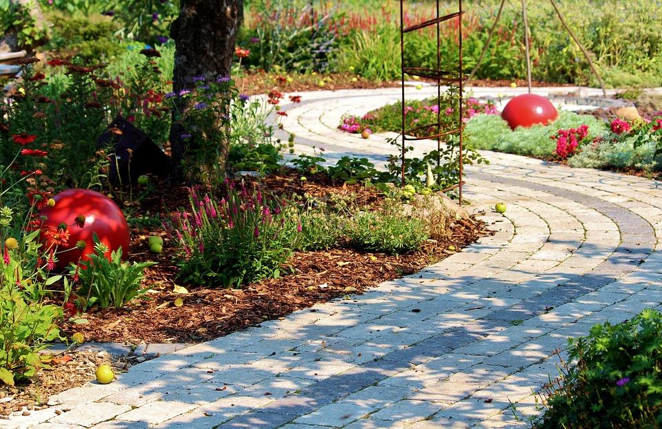 Flowers, Bloom, Away, Devoured, Patch, Garden
