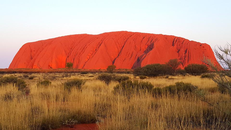 Rock, Red, Ayers, Desert, Outback, Nature, Territory