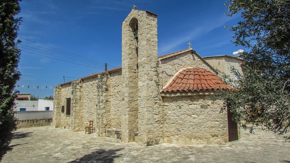 Cyprus, Troulli, Ayia Marina, Church, Orthodox