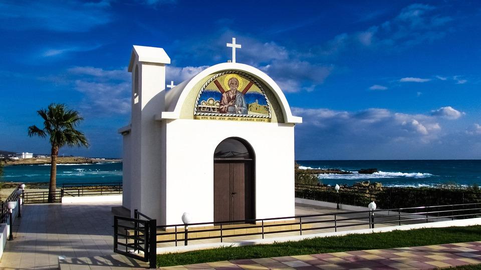 Cyprus, Ayia Napa, Ayios Andreas, Chapel, Church