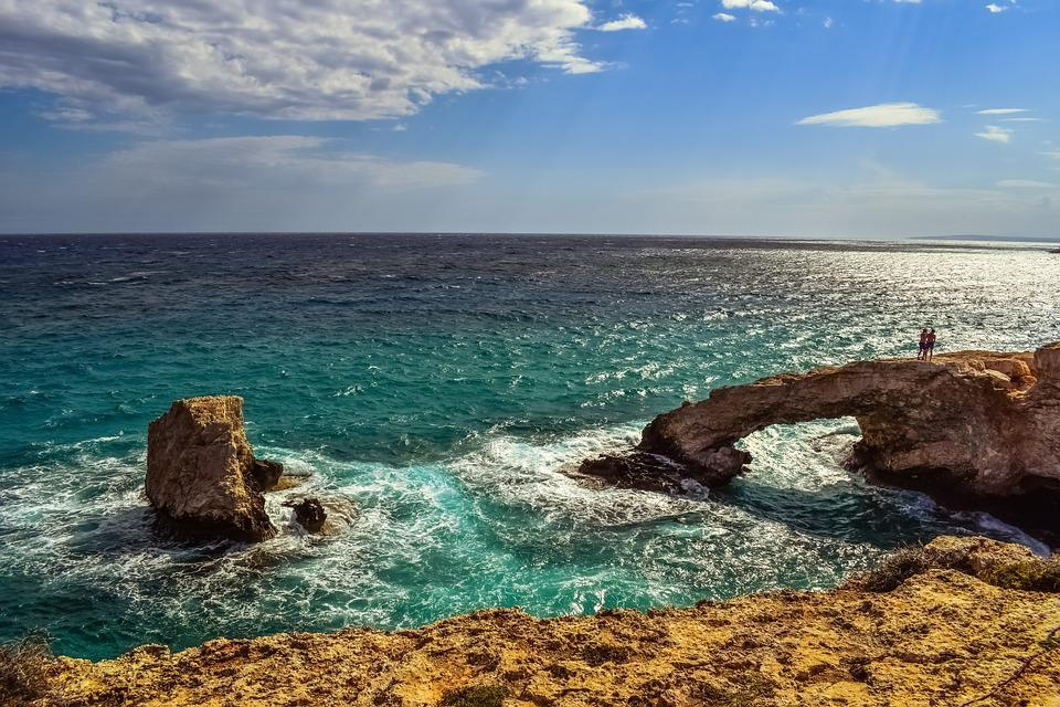 Cyprus, Ayia Napa, Lover's Bridge, View, Panoramic