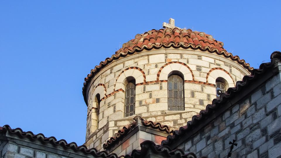 Greece, Volos, Ayia Triada, Church, Orthodox