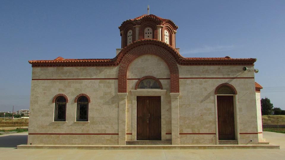 Cyprus, Paralimni, Ayios Markos, Church, Orthodox
