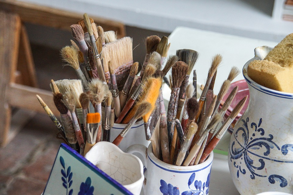 Portugal, Azores, Craft, Paint, Potters, Ceramic