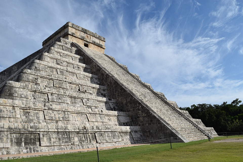 Pyramid, Mexico, Aztec, Mexican, Cancun, Temple