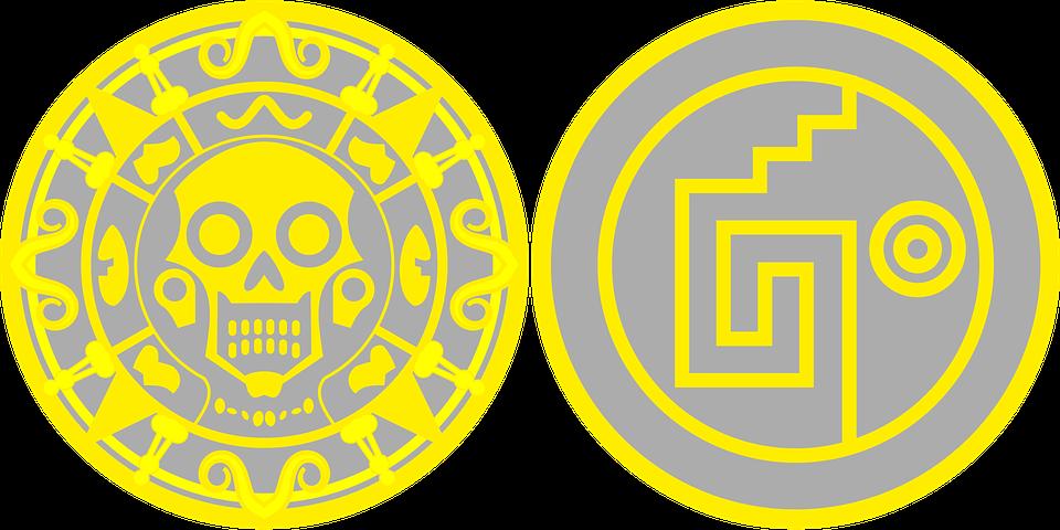 Aztec, Mayan, Toltec, Skull Symbol, Aztec Symbol
