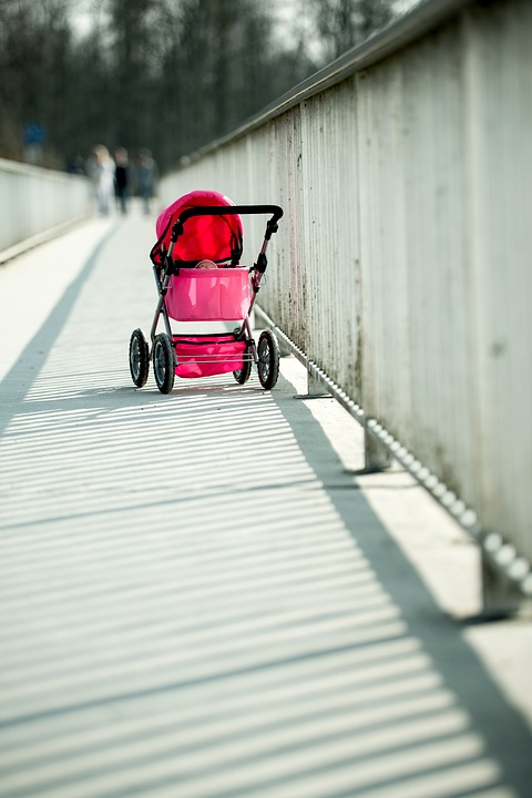 Baby Carriage, Baby Car, Buddy, Trolley, Shadow, Out