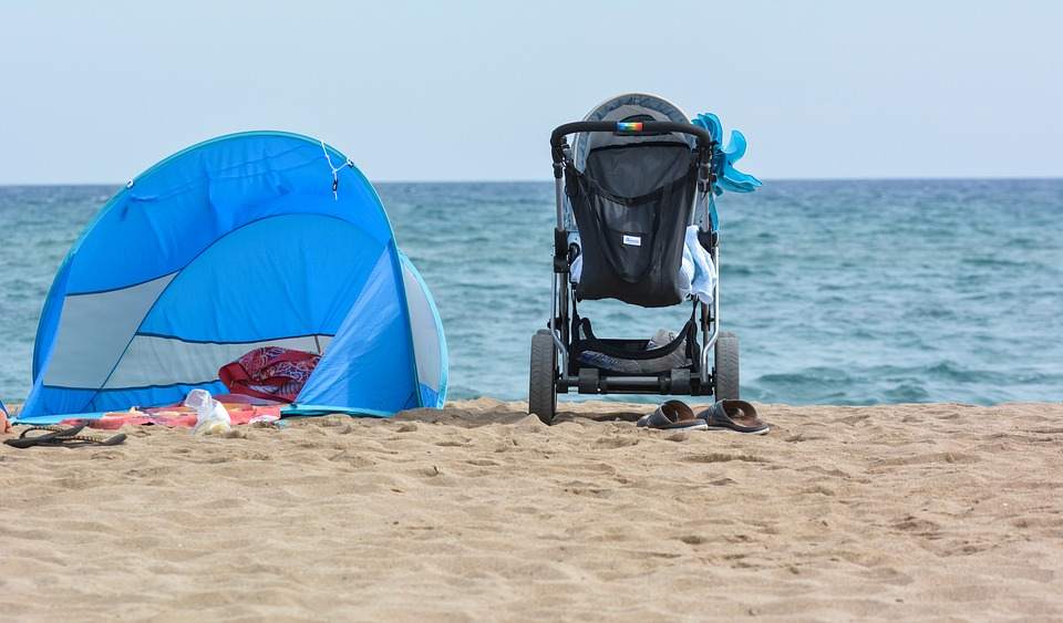 Baby Carriage, Dream, Happy, Family, Vacations, France