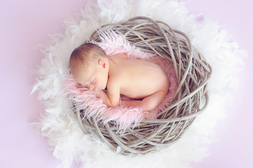 Baby, Sleeping Baby, Baby Girl