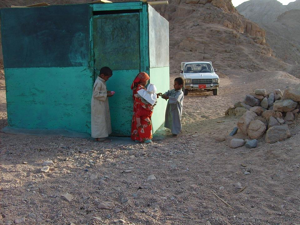 Children, Play, Desert, Baby, Egypt, Hot, Hurghada