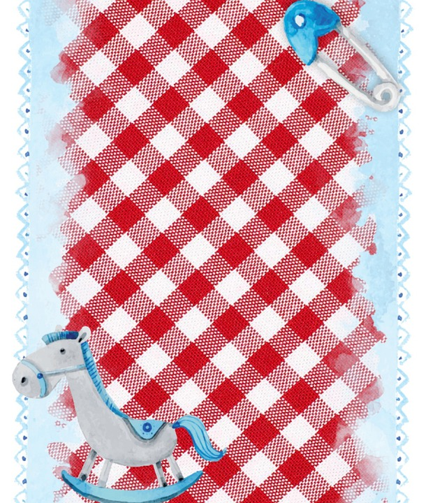 Background, Baby, Infant, Checkered