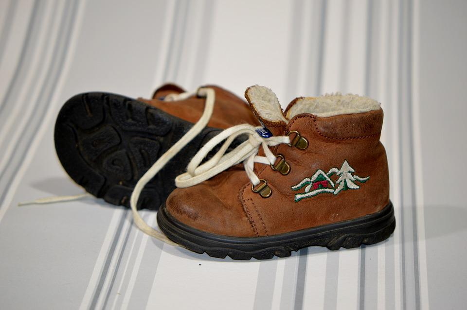 Baby Shoes, Baby, Shoes, Brown