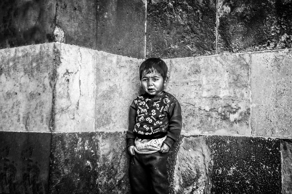 Child, Sadness, Baby, Face, Street Children