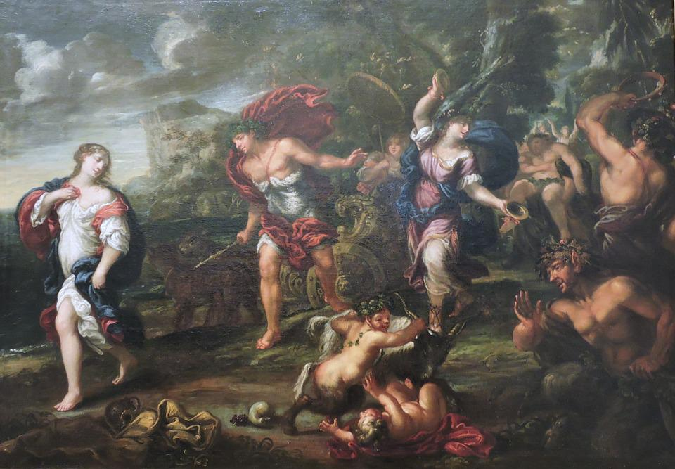 Bacchus, Arianna, Painting, The Framework, Museum