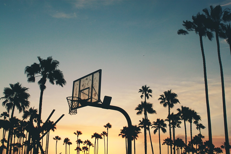 Backboard, Backlit, Basketball Board, Basketball Ring