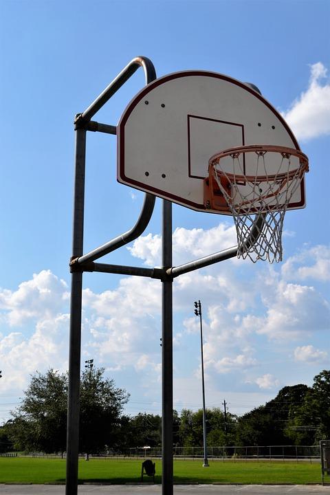 Outdoor Basketball Court, Houston, Texas, Backboard