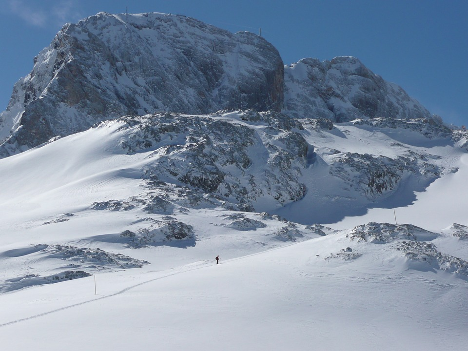 Dachstein, Backcountry Skiiing, Snow, Glacier