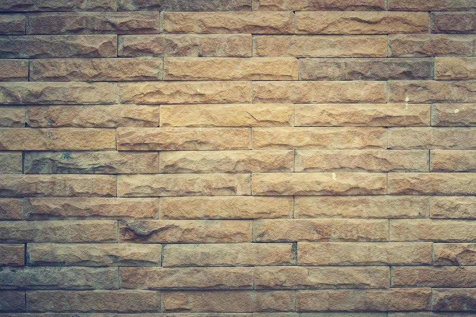 Aged, Backdrop, Brick, Brickwork, Brown, Building