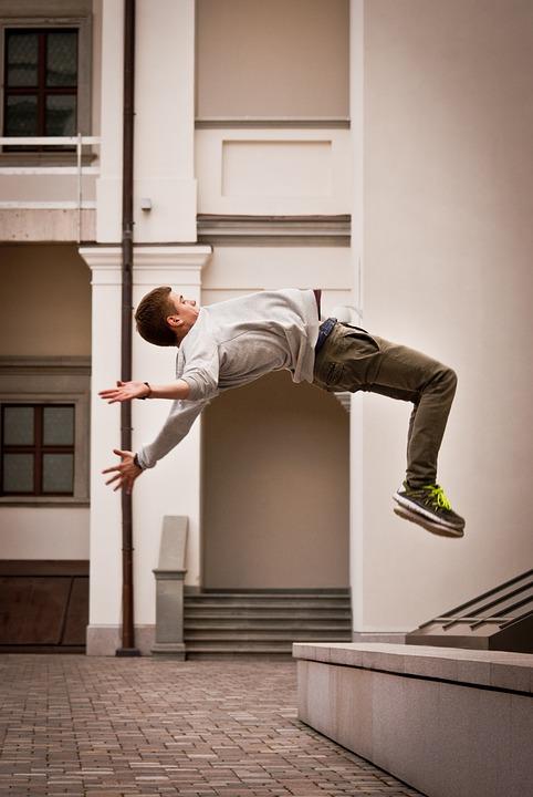 Backflip, Acrobatic, Outdoor, Energy, Jump, Sport