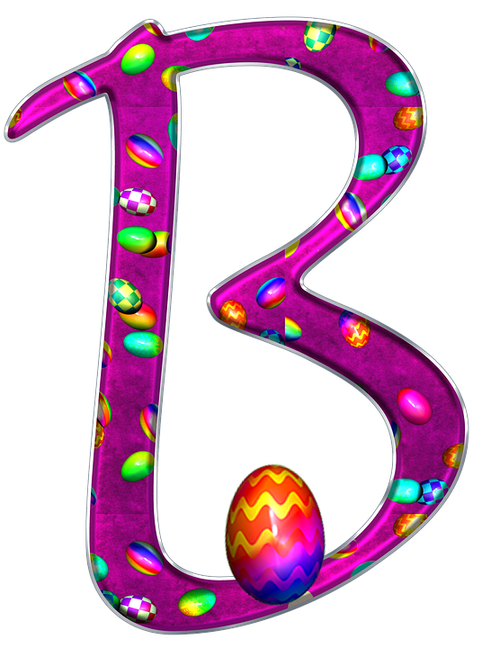 Alphabet, Letter, Initial, Easter, Background