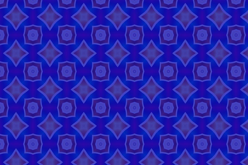 Background, Blue, Pattern, Wallpaper, Abstract, Art