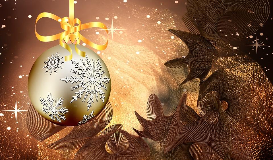 Christmas, Rendering, Background, Atmospheric