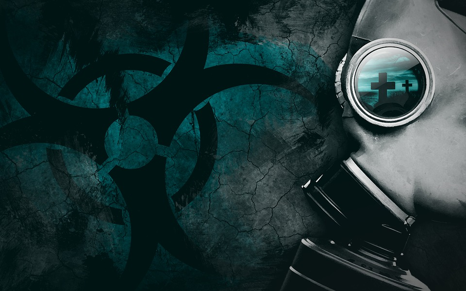 Gas Mask, Apocalypse, Nuclear, Atom, Bio, Background