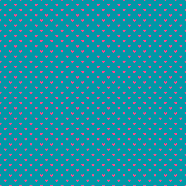 Background, Wallpaper, Digital Paper, Blue, Rosa, Heart