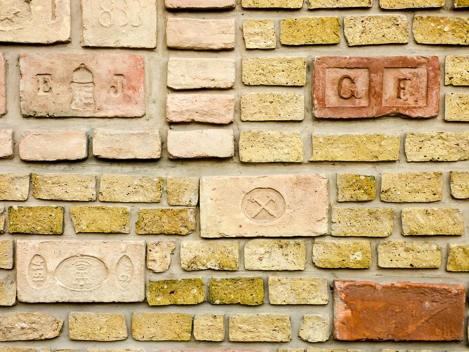 Fence, Brick, Background, Structure, Old, Brick Wall