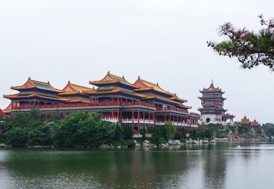 free photo background china palace building - max pixel