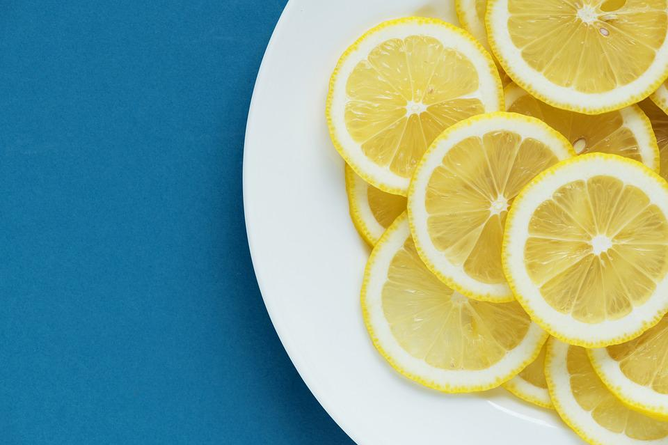 Acid, Background, Blue Background, Citric, Citrus